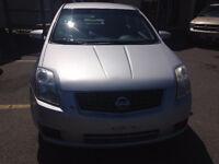 "2007 Nissan Sentra Sedan """"Safety&E-tested"""""
