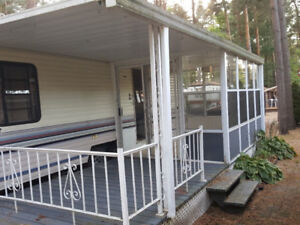 Covered Deck with Sunroom 8 x 24