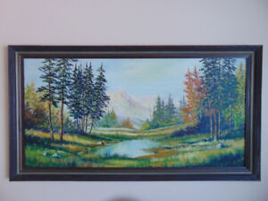 Large PAINTING by JERRY DOELL