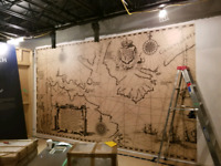 Commercial Wallcoverings Installation