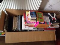 Lots of free books, take whatever you want!