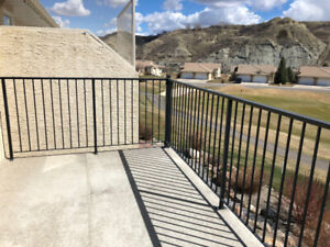 Powder Coated Iron Deck Railing