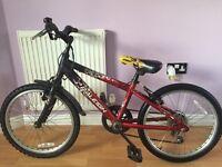 """Kids bike 'Raleigh Hotrod' 20"""" wheels, 6 gears, suitable for aged between 6-9"""