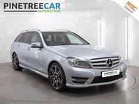 2013 MERCEDES BENZ C CLASS 2.1 C250 CDI AMG Sport Plus 7G Tronic Plus 5dr Auto
