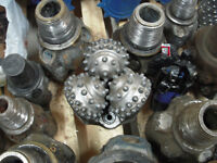 Wanted: Buy used Tricone, PDC & carbide oilfield drill bits
