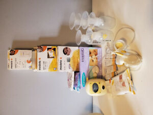 Medala Breastpump and accessories