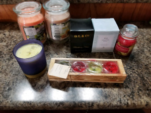 Brand new candles