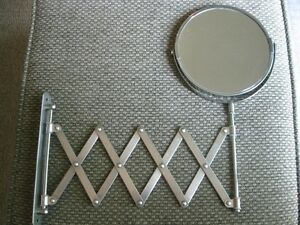 Double-Sided Wall Mount 5X / 1X Magnifying Swivel Mirror