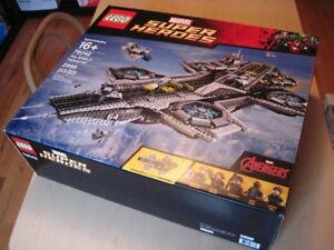 Lego The Shield Helicraft , Complet avec boite set 76042
