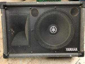 "Yamaha SM15H-II - 2-Way 15"" Stage Monitor"