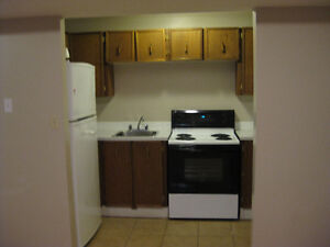 Utilities included & Telus TV (can be partly furnished)