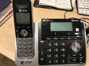 Two line Wireless Landline Phone by AT&T