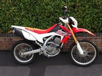 Honda CRF250L with only 146 miles!