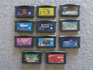 Nintendo Game Boy Advance Games and DS Games