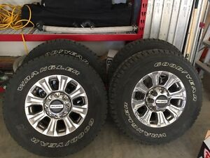 NEW 2017 FORD F350 FACTORY TIRES & RIMS FOR SALE!!