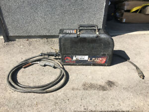 LN-25 Suitcase Welder Volt Sensing Wire Feeder