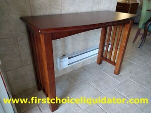 RA Inexcess Provincial style demi-lune style console