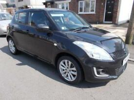 2015 Suzuki Swift 1.2 ( 94ps ) SZ3 five door black 1 lady owner