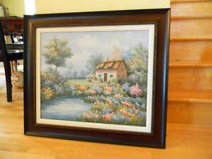 Framed Oil Painting ---Excellent Condition