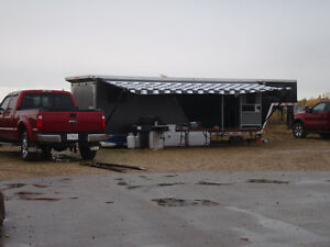 Intech 36 ft custom built toy hauler.