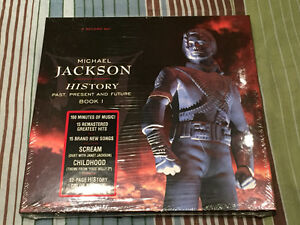 RARE Michael Jackson History Book 1 Vinyl 3 LP Box Set NEW