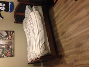 Double Bed with Frame (headboard and footboard)