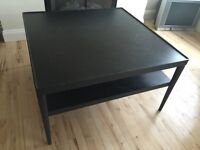 Black IKEA Table For SALE