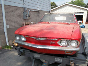 2 1965 Corvair restoration projects