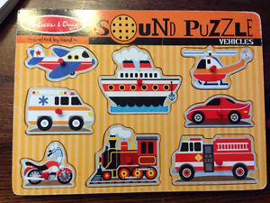 Melissa and Doug puzzle