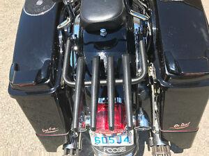 Harley Street Glide backrest Stealth rack 4point docking station
