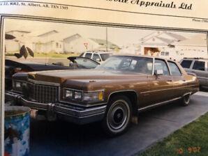 1976 Cadillac Fleetwood 60 Special Brougham