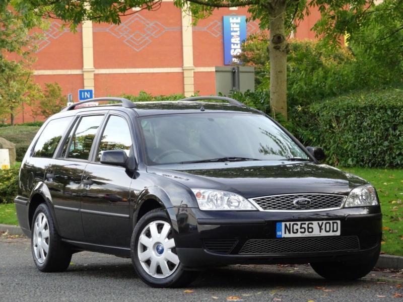 ESTATE Ford Mondeo 2007 1.8 LX BLACK +1 OWNER + JUST SERVICED + WARRANTY