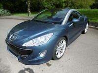2011 60 Peugeot RCZ THP GT 200 Coupe Petrol Manual In Blue Metallic