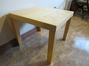 Table de bout 21-3/4 x 18