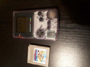 Used Game Boy Color and 2 games for sale!