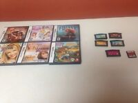 Ds and gameboy advance games-all games 10.00 each!!