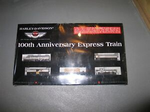 100th Harley Davidson train set