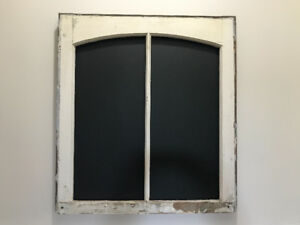 Antique window frame /chalkboard