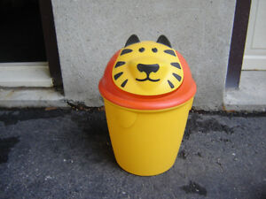 CUTE KID'S TIGER GARBAGE CAN/TOYS London Ontario image 1