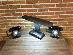 Lampe bureau rétro vintage métal CHICAGO ILL ADVANCE