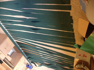 Lovely Forest Green Vertical Blinds