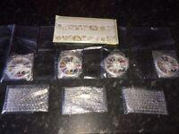 Joblot of 4 packs of Avon nail gems, 3 applicators and nail file set