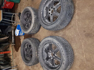 Rims and tires $300.00