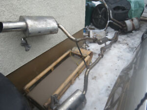 2004 Audi AWD stainless steel exhaust system