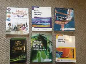 PSW/LPN first year textbooks