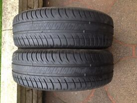2 Michelin tyres 175 65 14