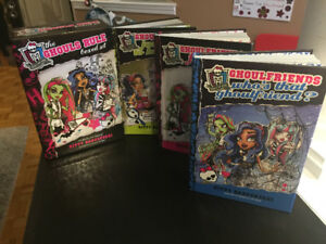 Monster High Hardcover Bookset
