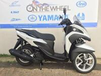 2016 YAMAHA TRICITY 125 COMPETITION WHITE, BRAND NEW! ON THE ROAD