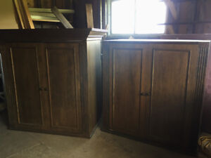 Wooden Armoire - $20