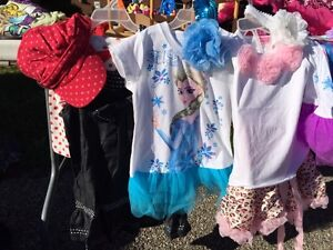 New outfits - Elsa, fall Jean dress with hat, pink cheetah  Kitchener / Waterloo Kitchener Area image 1